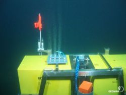 CO2 release-experiment with the GEOMAR elevator lander
